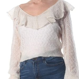 Free People mohair sweater